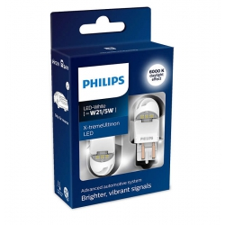 PHILIPS LED W21/5W WHITE 6000K X-tremeUltinon 2szt 11066XUWX2
